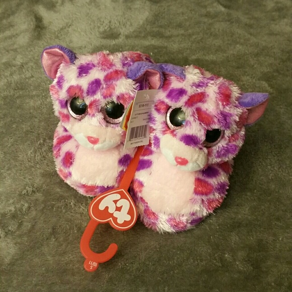 S (10 11) girls ty Glamour slippers c56f24f904ee